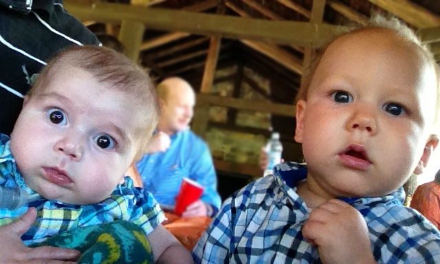 Judah and his cousin Levi. 5/5/13
