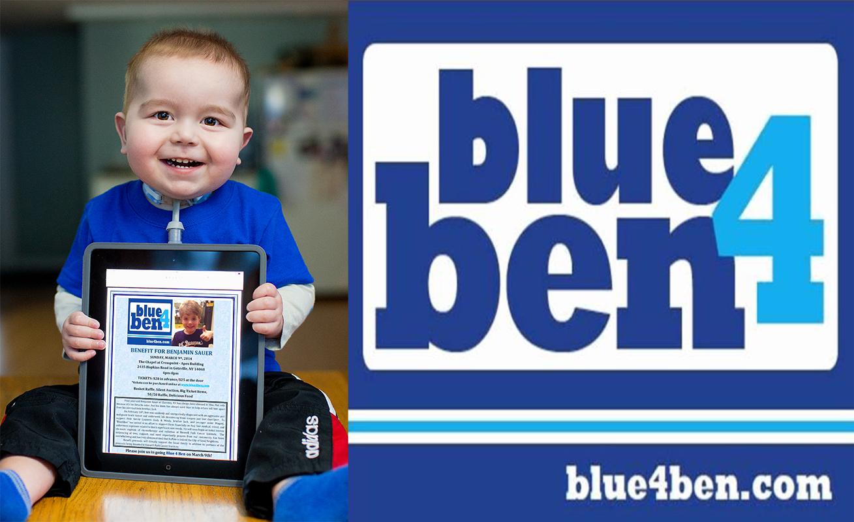 Blue4Ben w Logo
